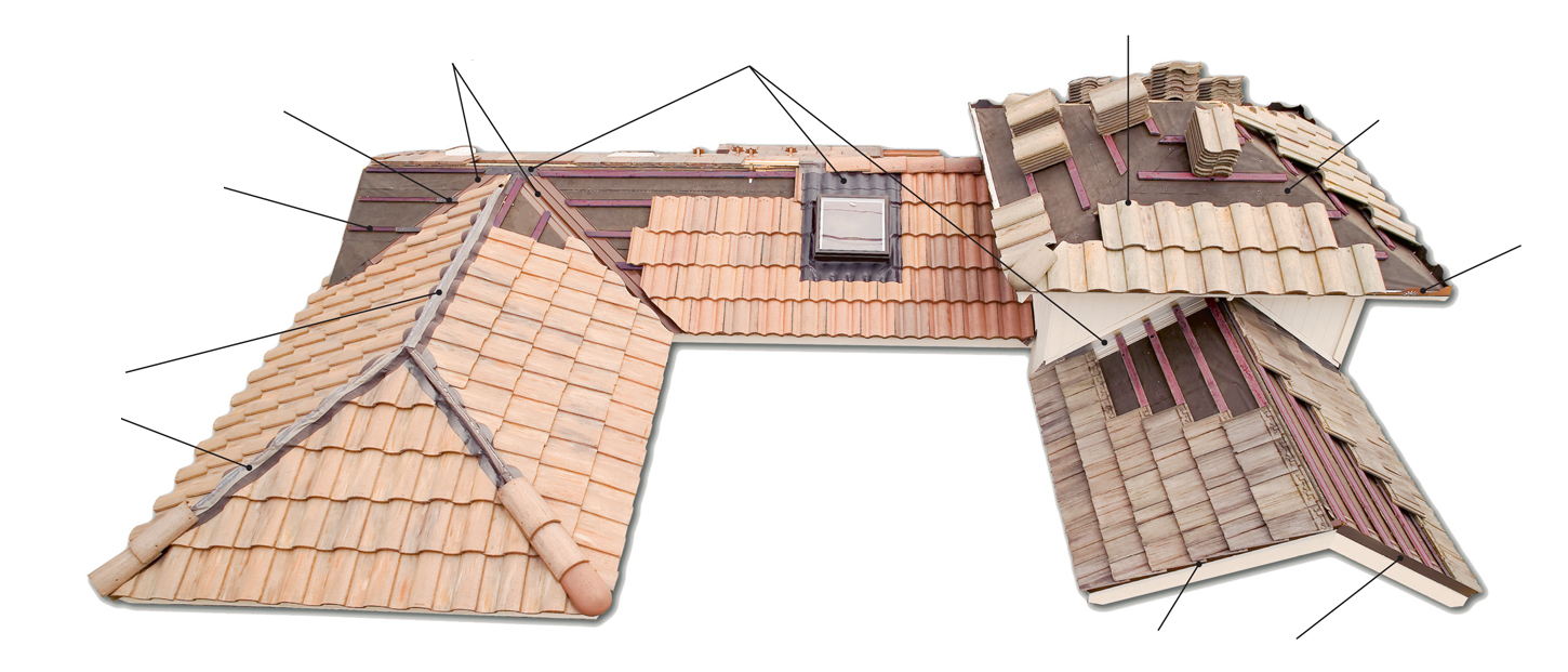My Housing Renovation Inc. - Sacramento Roofing Experts - Tile Roofing Components